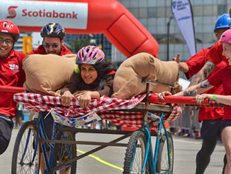 4th Annual Scotia Bank Bed Race