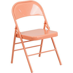 coral color chair