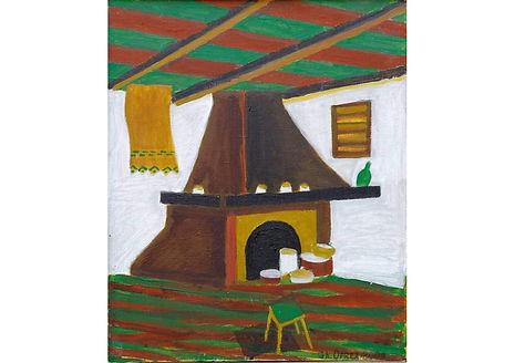 Traditions III, Acrylic on canvas, 60 x 50 cm