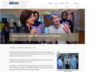 "UNESCO Chief praises ""Women in Art for Peace"""