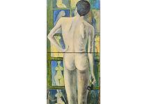"""The ideal man"", Oil on canvas, 112 x 56 cm"