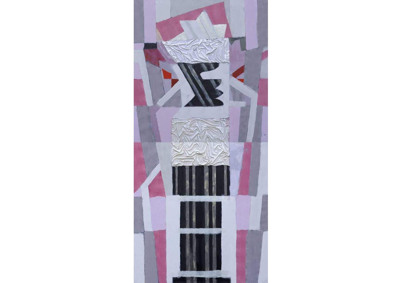 Column II, Acrylic on canvas, 100 x 200 cm