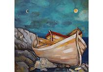 Silence, Acrylic on canvas, 100 x 100 cm