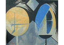 Trees, Oil on canvas, 55 x 65 cm