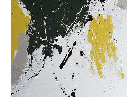 Splash 8, Acrylic on canvas, 100 x 120 cm