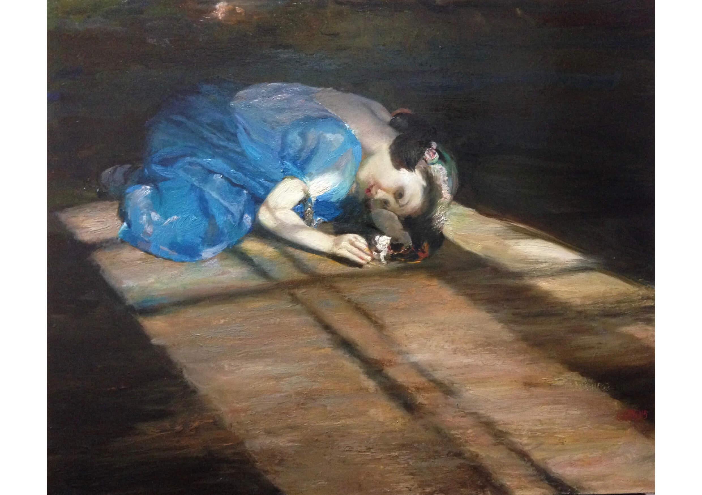 Ileana, Oil on canvas, 60.5 x 73.5 cm