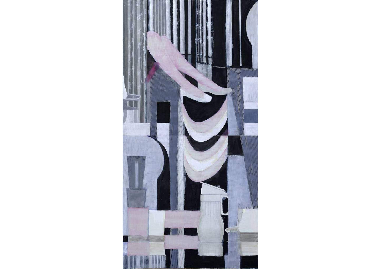 Organon, Acrylic on canvas, 100 x 200 cm