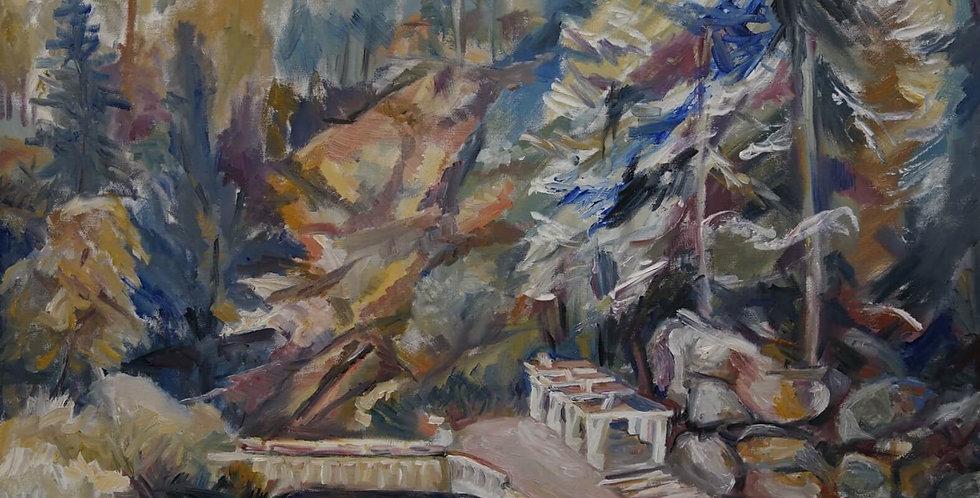 Springs of Slanic by Eleonora Brigalda