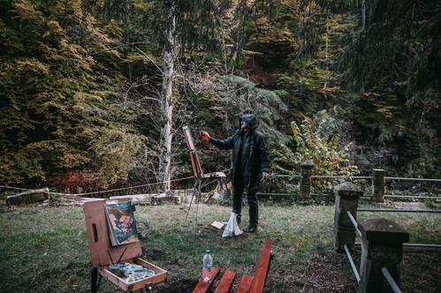 Art residency in Romania