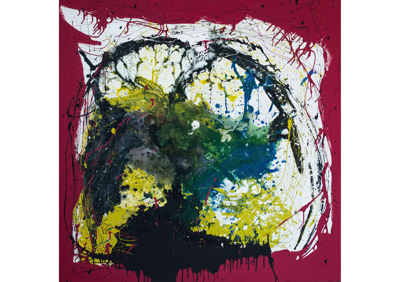 Formation 1, Acrylic on canvas, 120 x 120 cm