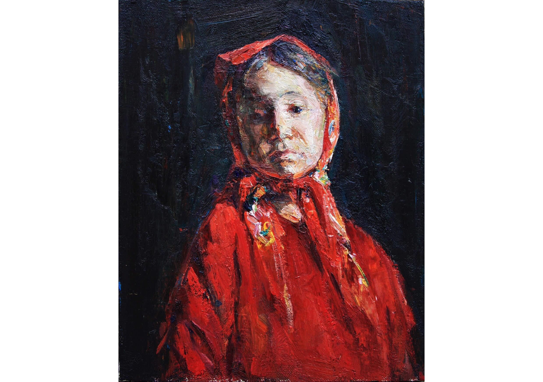Gipsy Girl, Oil on canvas, 50 x 40 cm