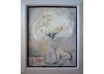 Flower bouquet, Oil on canvas, 40 x 32 cm