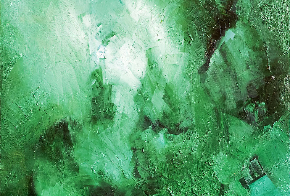 Green rain by Ekaterina Shuster