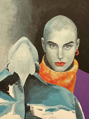 No Name, 2020, 80x60 cm, canvas/acrylic