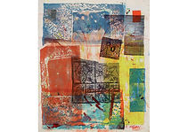 Zbucium 1, Mixed media on canvas, 95 x 80 cm