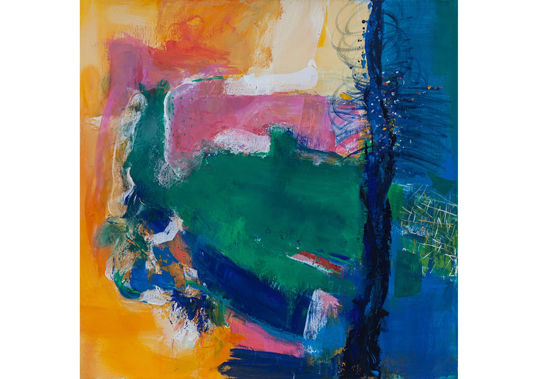 Fresh, Acrylic on canvas, 70 x 70 cm