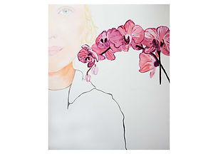 Thea and the Orchid