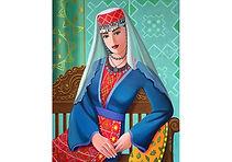 Armenian Lady 2016, Acrylic on Canvas  60cm x 76cm