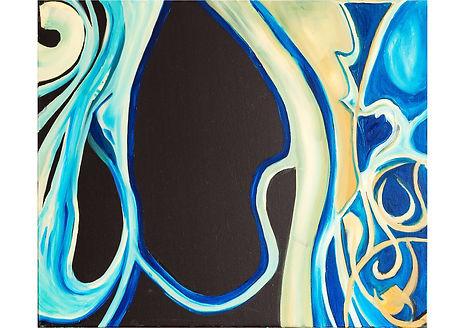 Close world, Oil on canvas, 50 x 60 cm