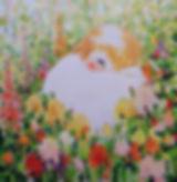 Spring Peace - Cezara Kolesnik -80x80 -Oil on canvas