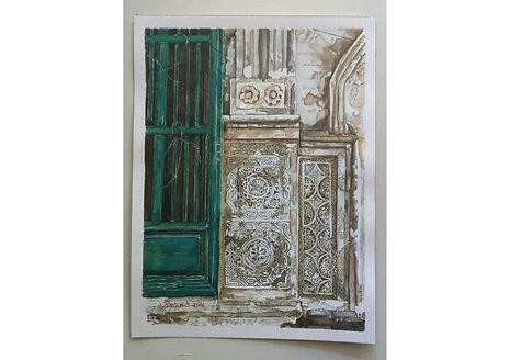 Watercolour 3, Watercolour on paper, 40 x 30 cm