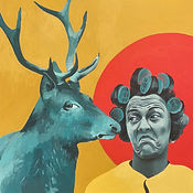 Doddle, 2020, 80x80 cm, canvas/acrylic