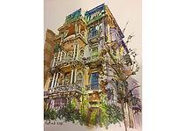 Watercolour 1, Watercolour on paper, 40 x 30 cm