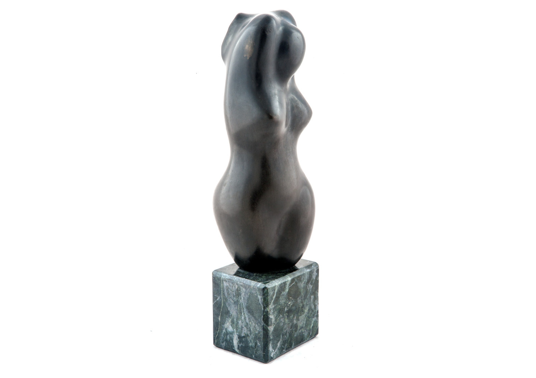 Sculpture #1, Bronze sculpture, 40 x 10 cm