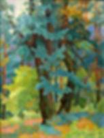 Falnicul arobore - Eleonora Romenescu - 40x50 - Oil on canvas