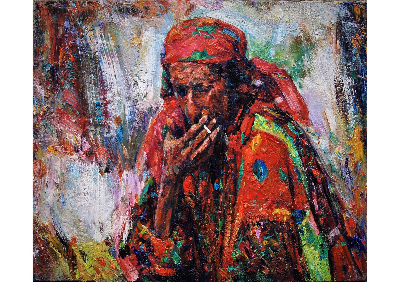 Fortune Teller, Oil on canvas, 50 x 60 cm