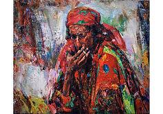 Gheorghe Lisita, 1982, 'Fortune Teller',