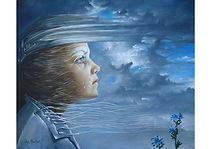 Childhood Memories, Oil on canvas, 50 x 60 cm