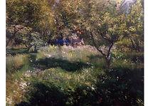 Blue House, Oil on canvas, 116 x 90 cm