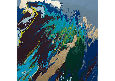Part of peace, Acrylic on canvas, 80 x 80 cm