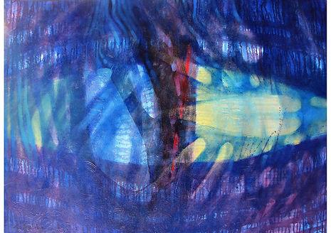 Hope, Mixed media on canvas, 80 x 120 cm