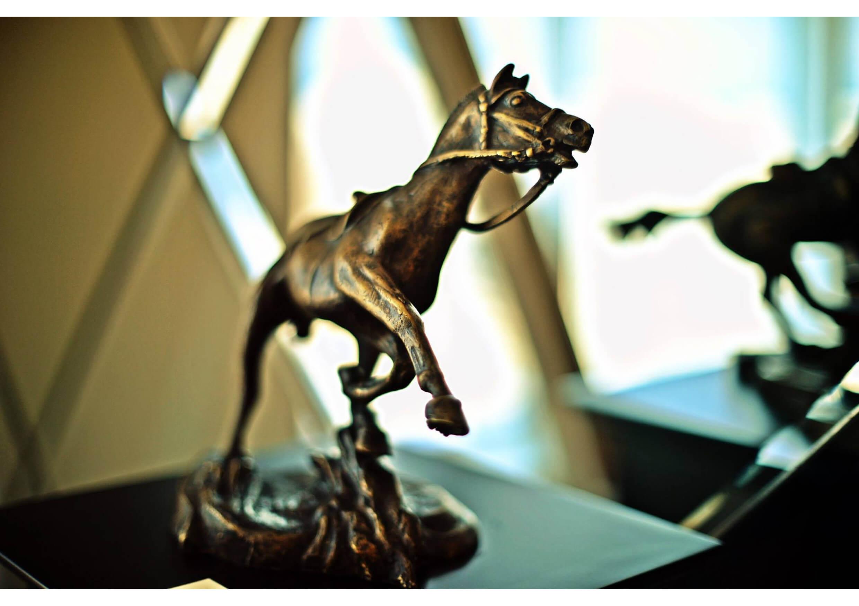 The Horse #16, Bronze sculpture, 30 x 45 x 20 cm
