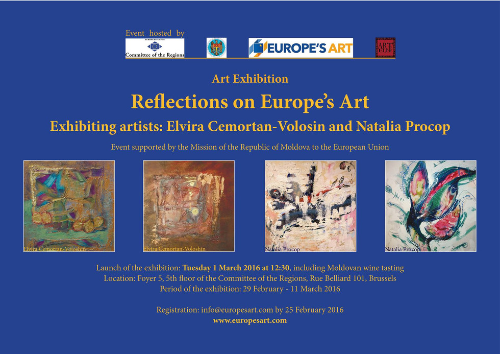 """""""Reflections on Europe's Art"""""""