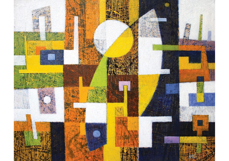 Metamorphosis I, Oil on canvas, 80 x 100 cm
