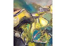Hidden worlds, Oil on canvas, 60 x 50 cm