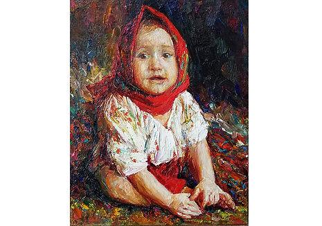 Innocence,50×40cm, 2020, oil on canvas,2000€