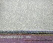 Horizon; oil on canvas, 40x50cm, 2017