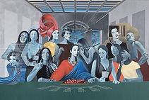 Introduction to the culture, 2020, 300х200 cm, canvas/acrylic