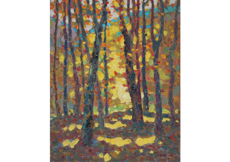 Lights, Oil on canvas, 50 x 40 cm