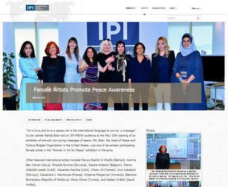 Female Artists Promote Peace Awareness