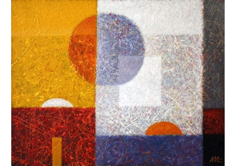 Metamorphosis 61, Oil on canvas, 80 x 100 cm