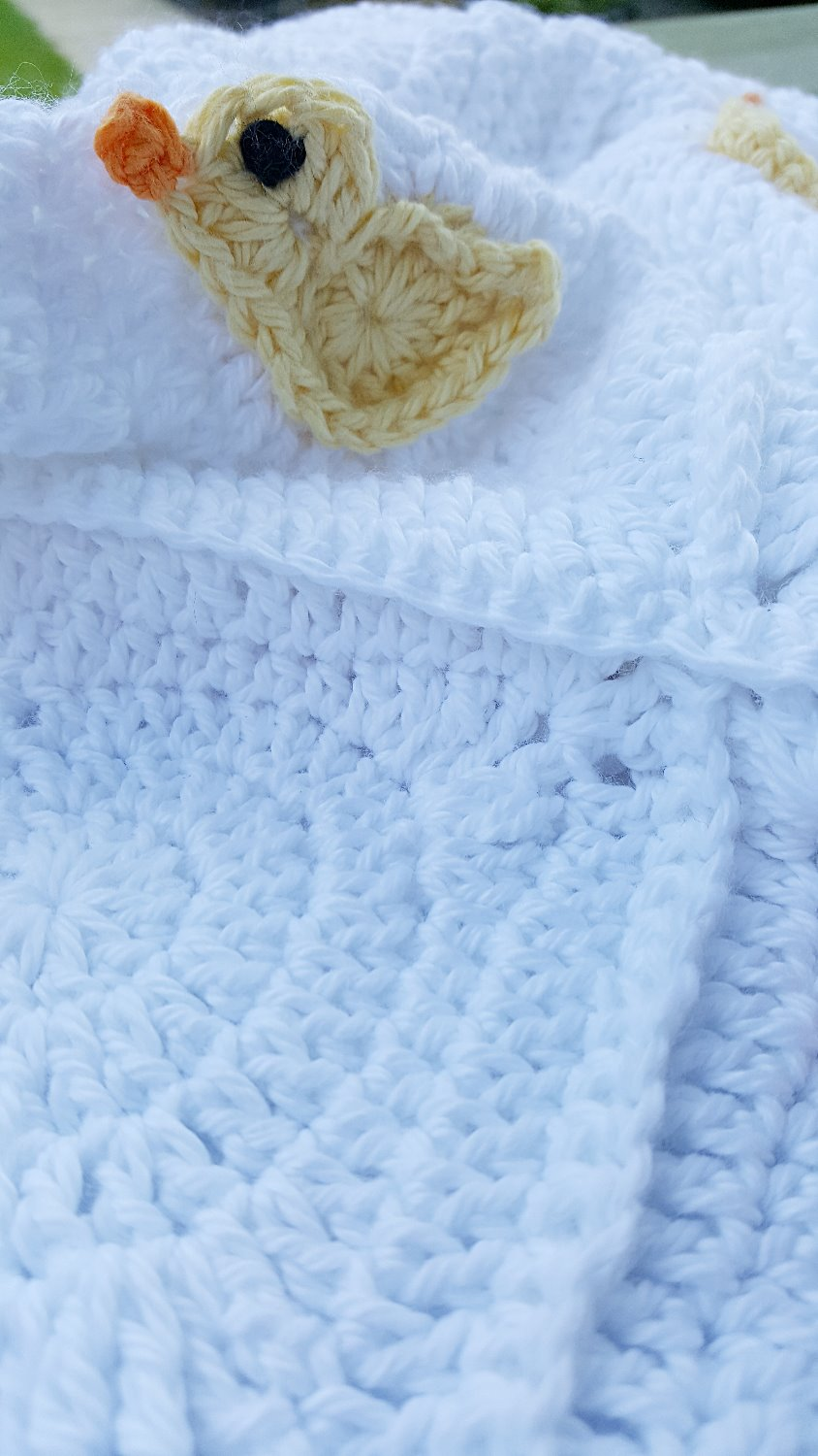 Little Duck Blanket by Kerry Jayne Desig