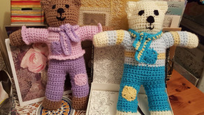 Teddy Bears for Yarndale Project  - September 2019