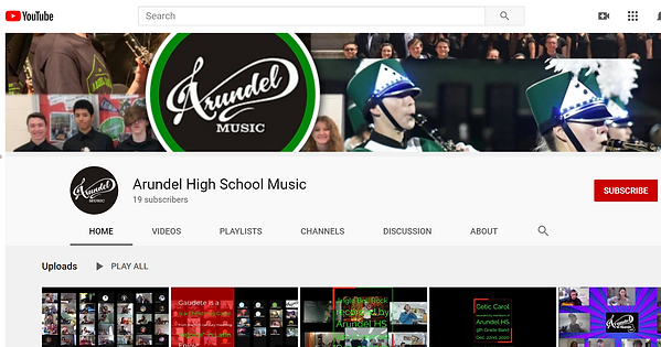 Arundel HS YouTube Channel.PNG
