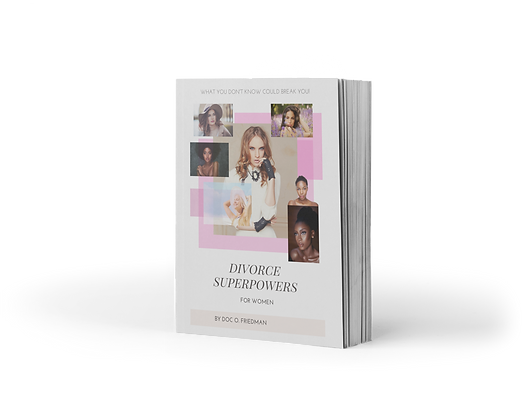 Divorce Superpowers for Women by Olivia