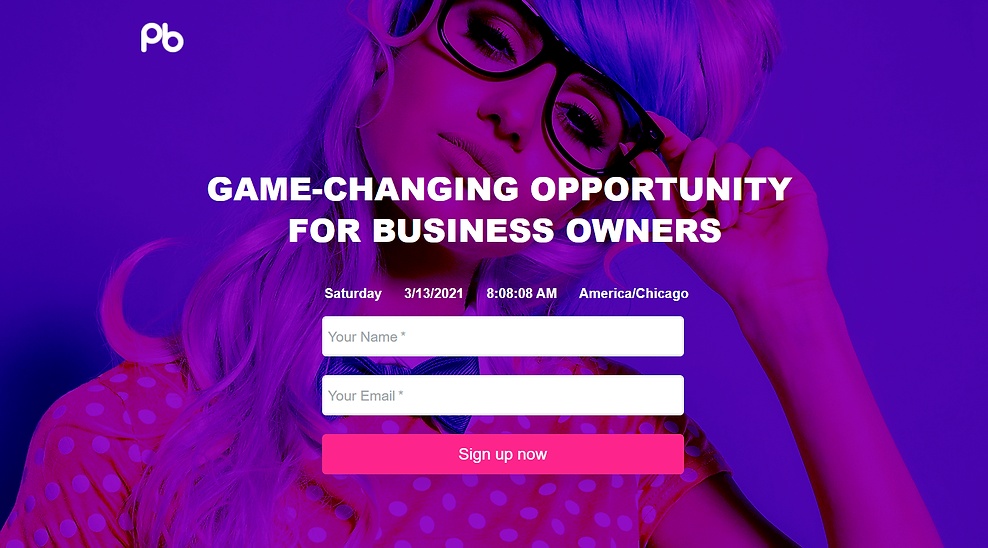 game changing opportunity for biz owners